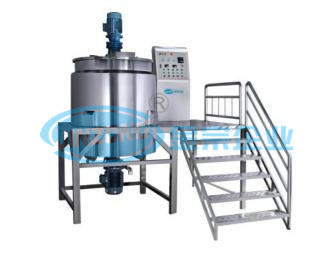 Mixing Tank Mixer Disperser Reactor for Food and Pharma Processing