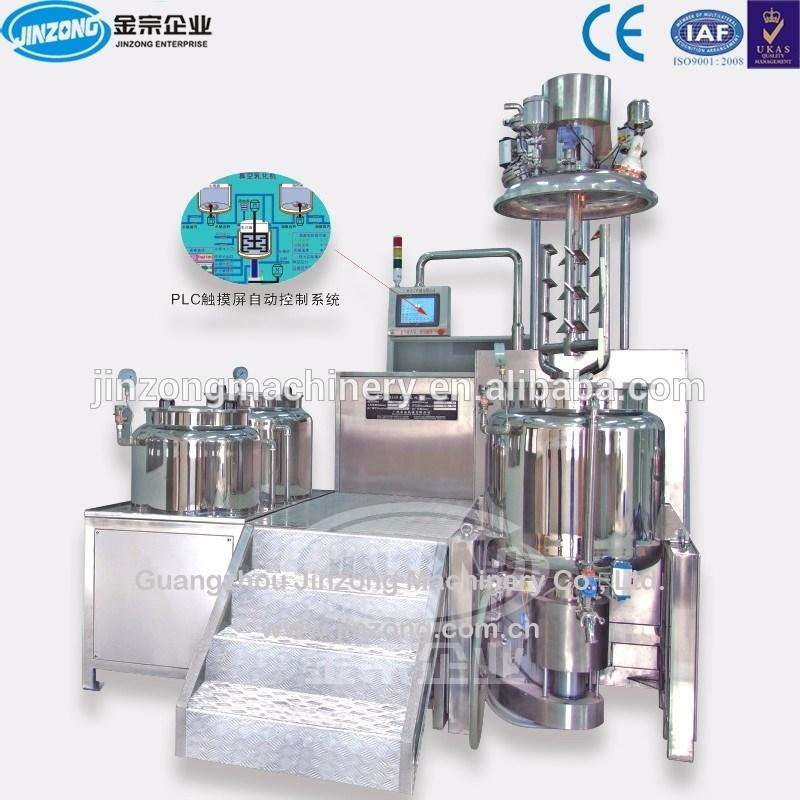 Automatic Ointment Cream Emulsifying Mixing Machine with Homogenizer Manufacturer