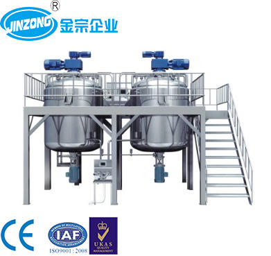 Automatic Sugar Melting Tank Oral Liquid Syrup Manufactuing Line Mixing Tank