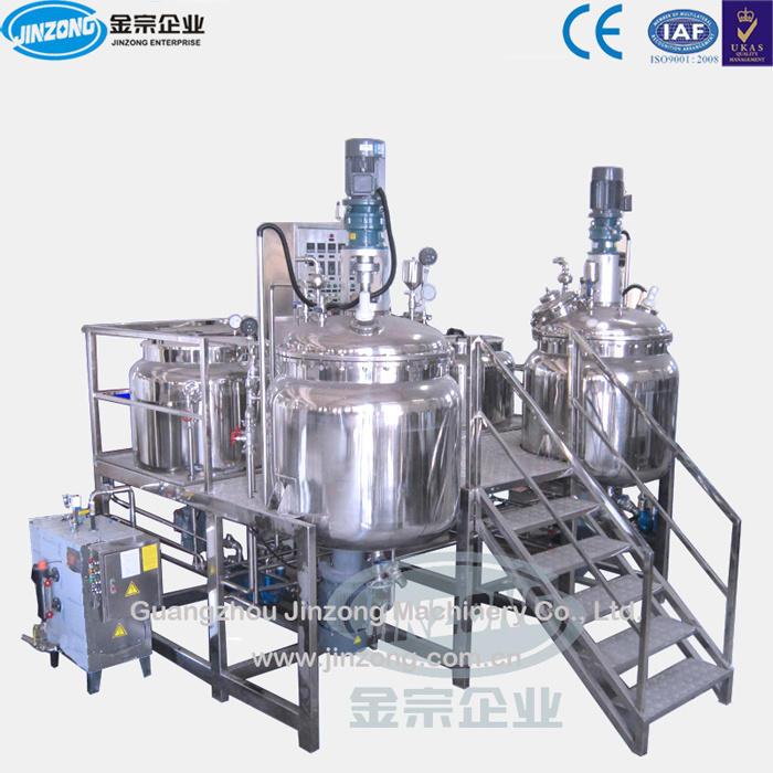 Vacuum Homogenizer Emulsifying Mixing Machine Ointment Mixer