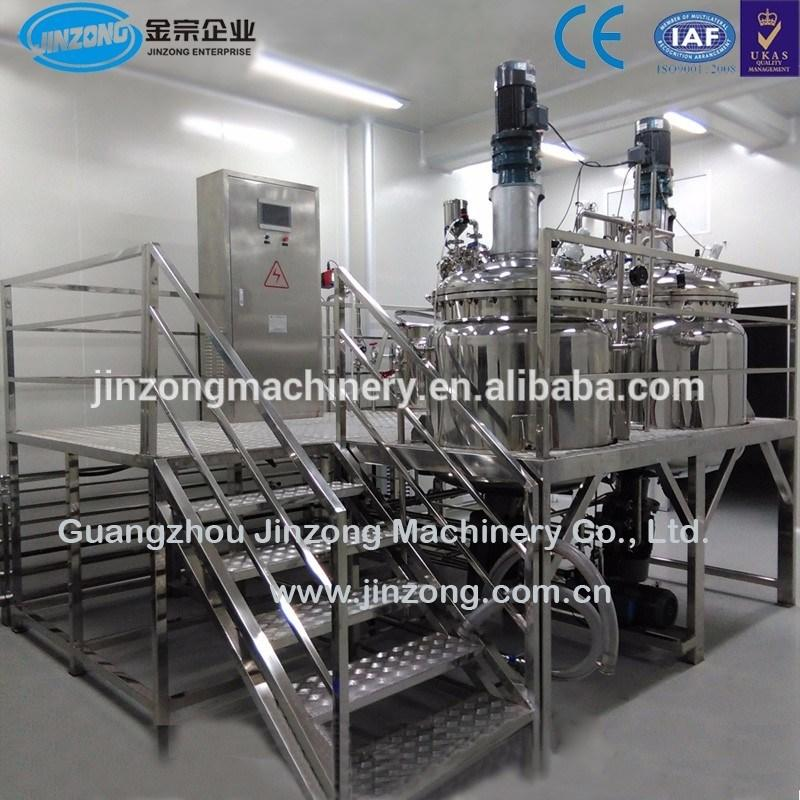 Syrup Manufacturing Line Sugar Melting Disperser Mixing Tank