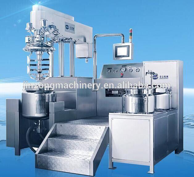 Automatic Ointment Cream Paste & Liquid Emulsifying Mixing Machine