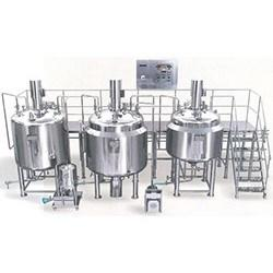 Cough Syrups Antacid Suspensions Oral Liquid Manufacturing Plant Mixing Tanks
