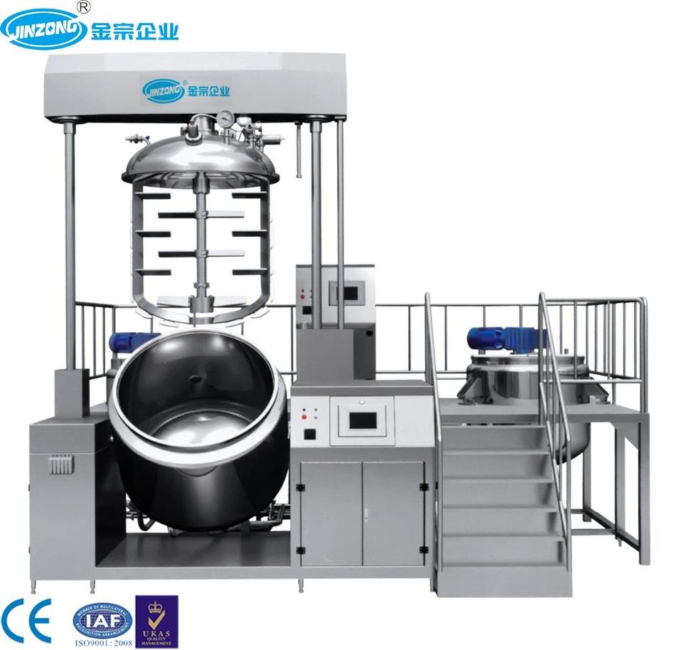 Ointment Cream Mixing Machine Tooth Paste Gel Manufacturing Plant