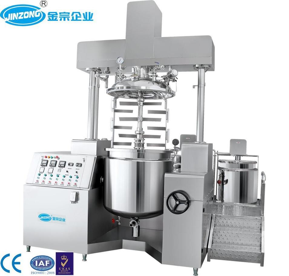 Automatic Ointment Manufacturing Plant Emulsifying Mixing Tanks