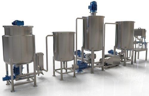 Mayonnaise Processing Plant