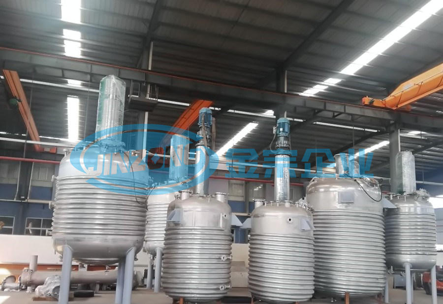 Pharmaceutical Intermediate Processing Limpet Coil Heating and Cooling Storage Tank