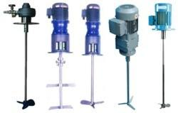 Portable Industrial Agitator and Stirrer for Pharmacy and Food Processing