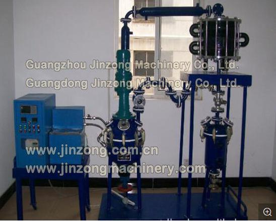 Pilot Glass Lined Reaction Plant Corrosion Resistant Reflux Reactor