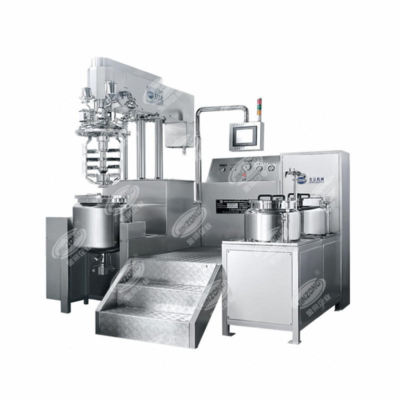 Ointment Cream Gel Mixing Manufacturing Machine Emulsifying Mixer