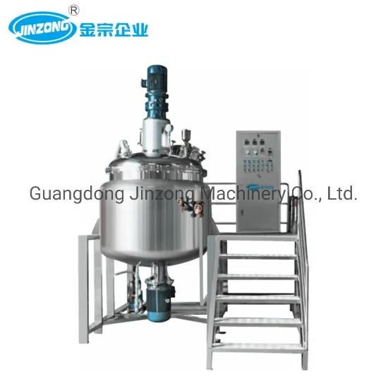 Wash Free Hand Disinfection Gel Production Equipment Gel Making Machine