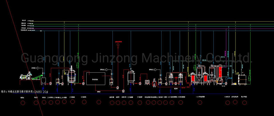 Fructose Persimmon Tannin Acid Extraction Production Line Equipment Plant