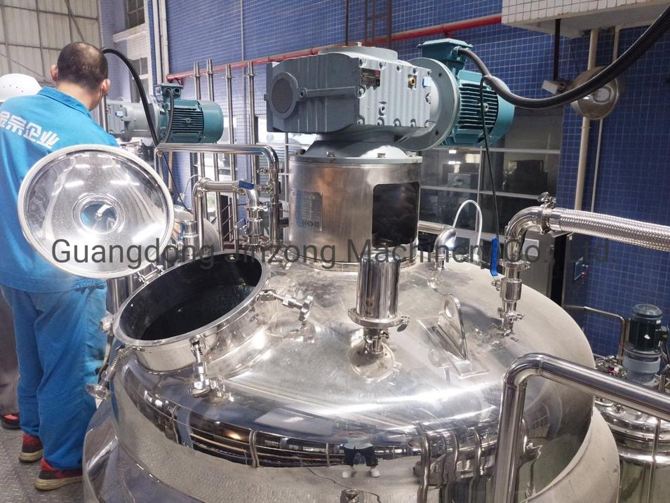 Production Line of Injection Solution Glucose Injection Mixer Compound Amino Acid Injection