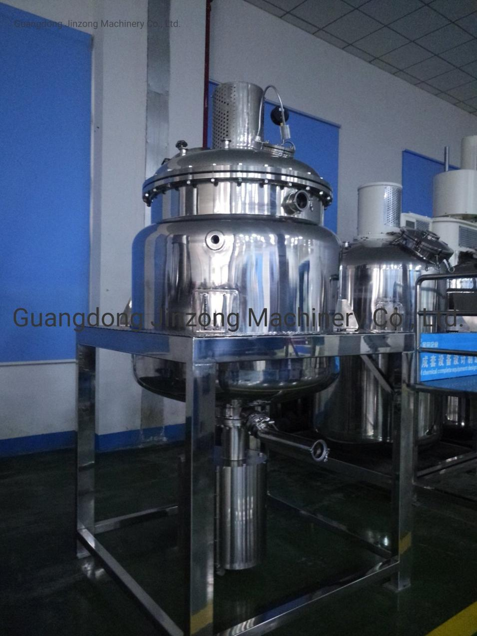 Heat-Transfer Conduction Oil Pharmaceutical Reactor 50-10000 Liter