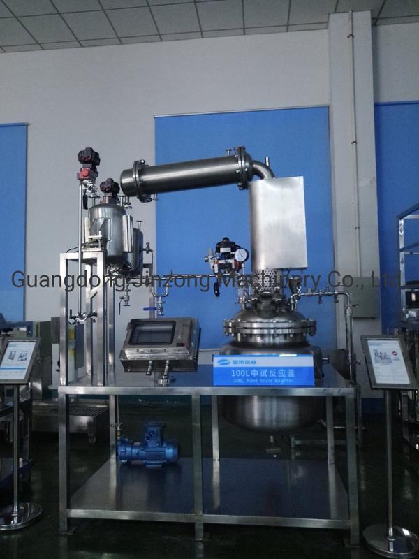 100L Pilot Scale Reactor Pharmacy Intermediate Reaction Processing Machine Laboratory Mixer Reactor Plant for Pharmaceutical New Design