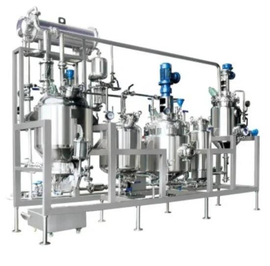 Multi-Functional Extraction Tnak and Concentration Recovery Pilot Plant