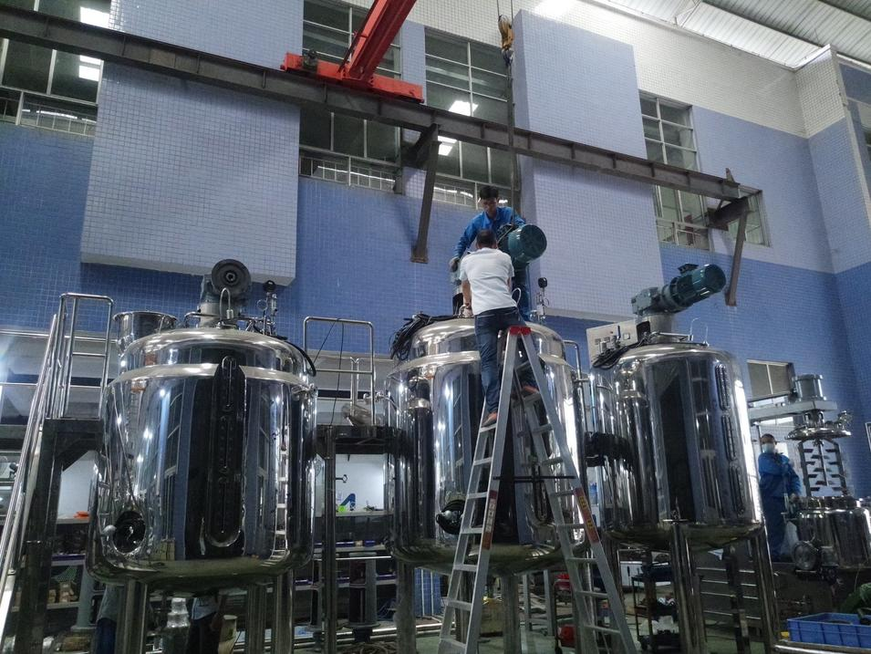 Stainless Steel Reactor for Food, Food Additive and Feed Additive