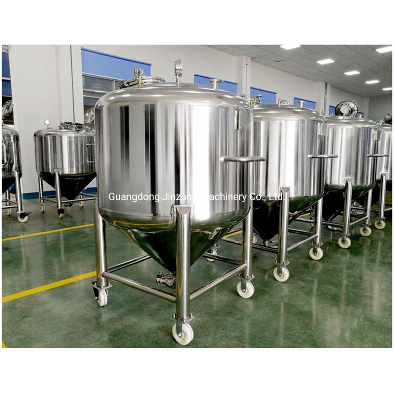 Biological Injection Mobile Tank Storage Tanks Customized Pressure Vessel Insulation Aseptic Storage Tank