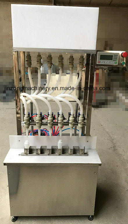 Anticorrosive Liquid Filling Machine with 6 Heads for Cleaning Liquid