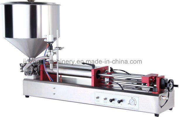 Food Paste Filler Machine with Mixer Hopper in Stocks From China