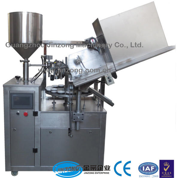 Toothpaste Tubr Filling and Sealing Machine