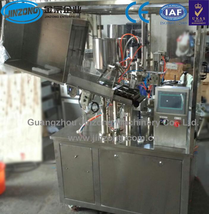 Facial Cream Tube Filling and Sealing Machine