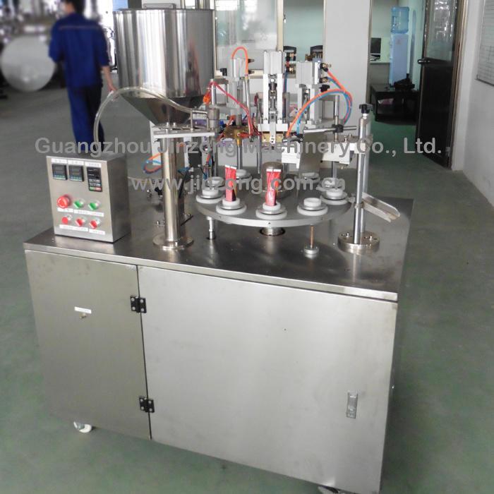 Semi-Auto Aluminum Tube Filling and Sealing Machine