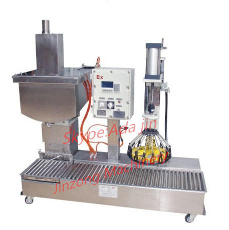 Single Head Semi-Automatic Filling Machine for Emulsion Paint