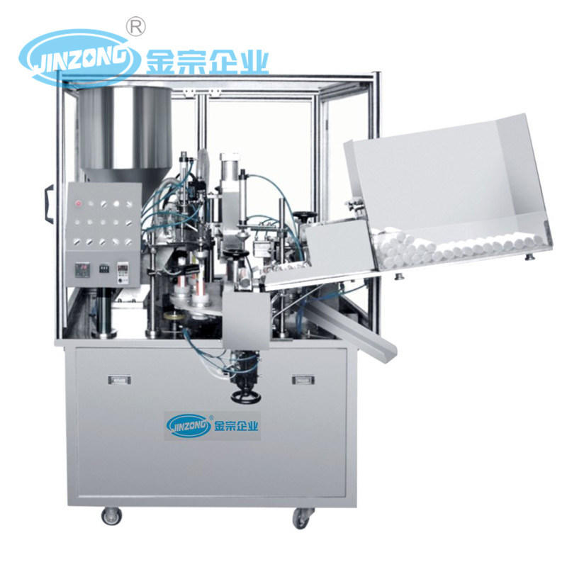 Automatic Laminated Tube Filling and Sealing Machine
