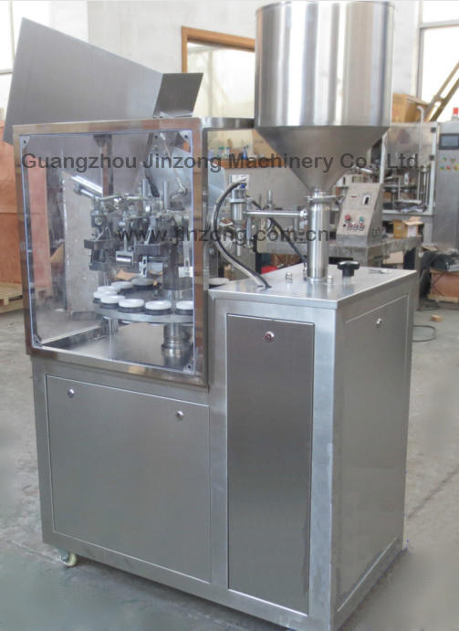 Semi-Automatic Tube Filling and Sealing Machine