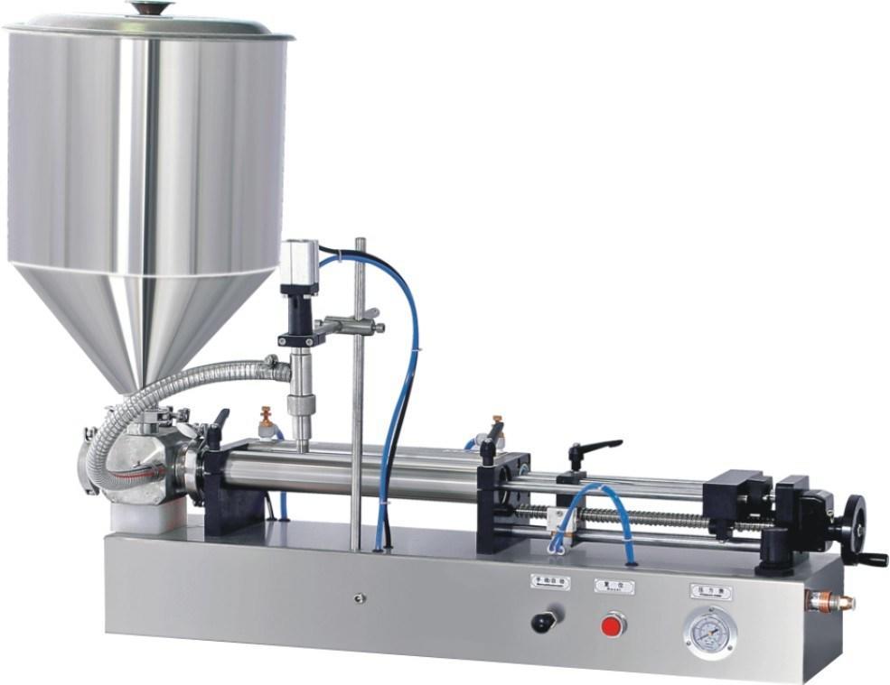Paste Liquid or Cream Self-Suction Filling Machine