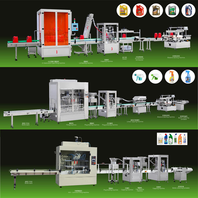 Jinzong Lubricating Oil Automatic Filling Line