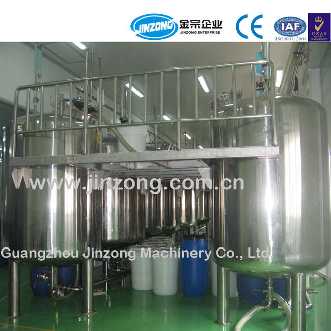 Jinzong Machinery 2000 Litre Stainless Steel Storage Tank