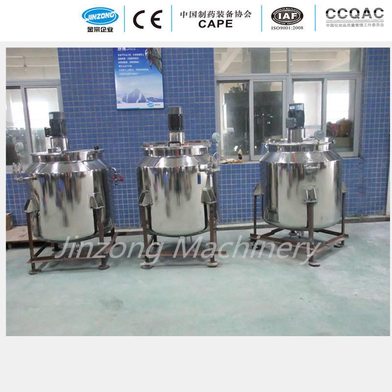 China Stainless Steel Mixing Storage Tank