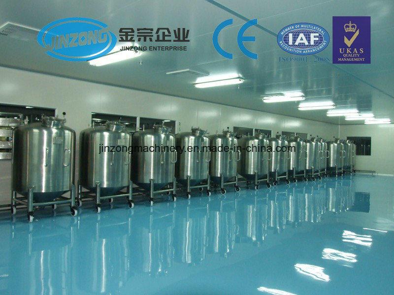 Jinzong Machinery Stainless Steel Aseptic Storage Tank