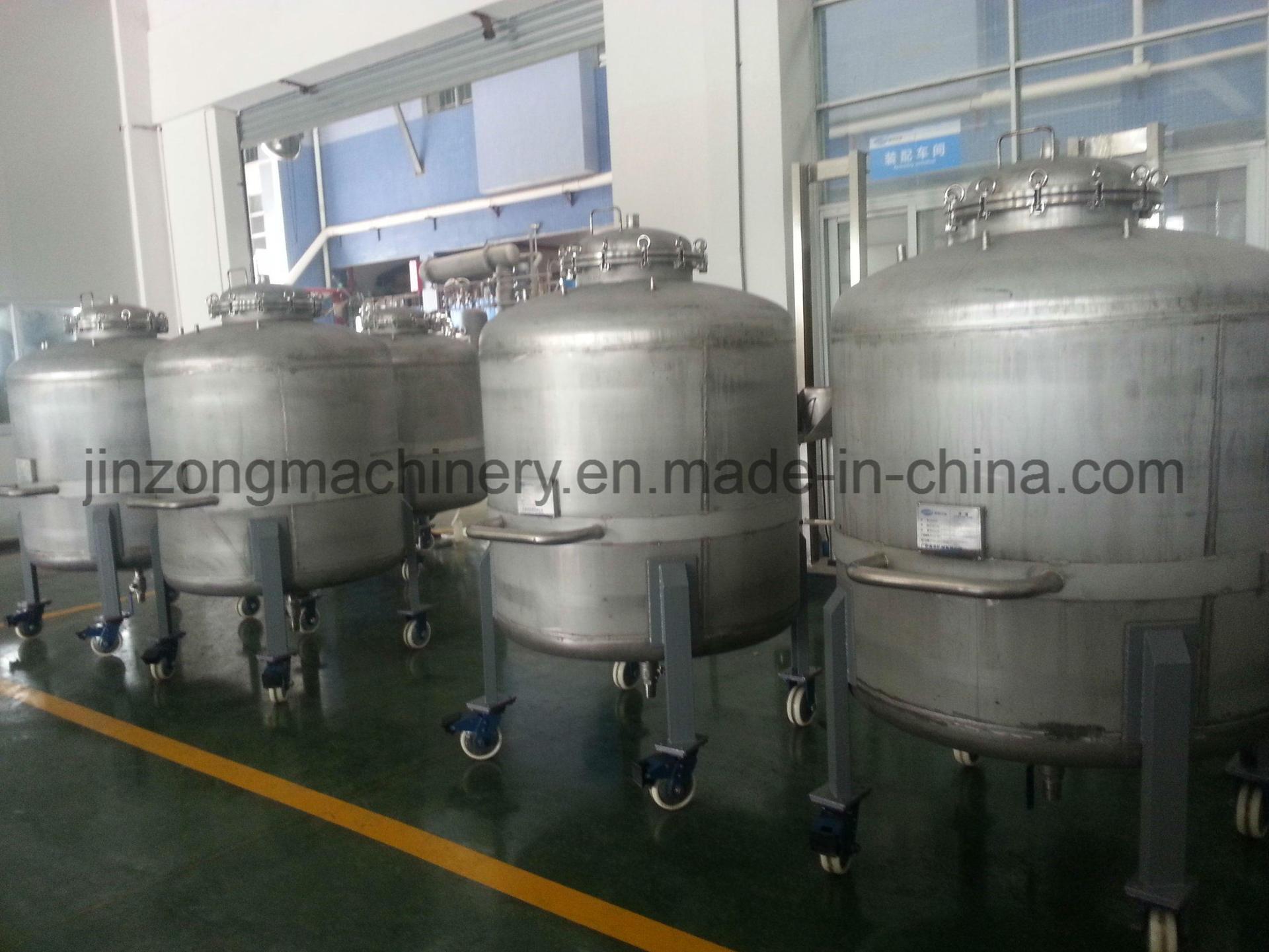 China Factory Price 304 316 Storage Tank
