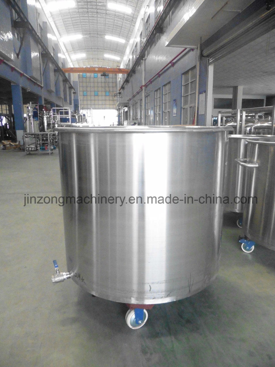 600L Paint/Coating Stainless Steel Storage Tank with Ce
