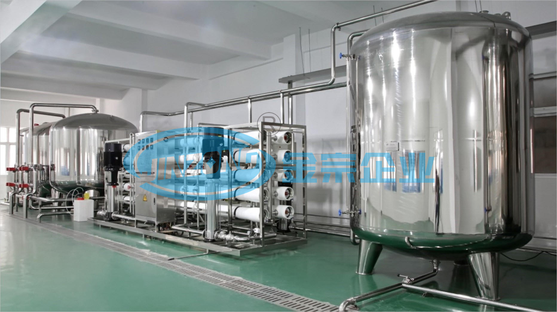 RO System for Water Purification Plant