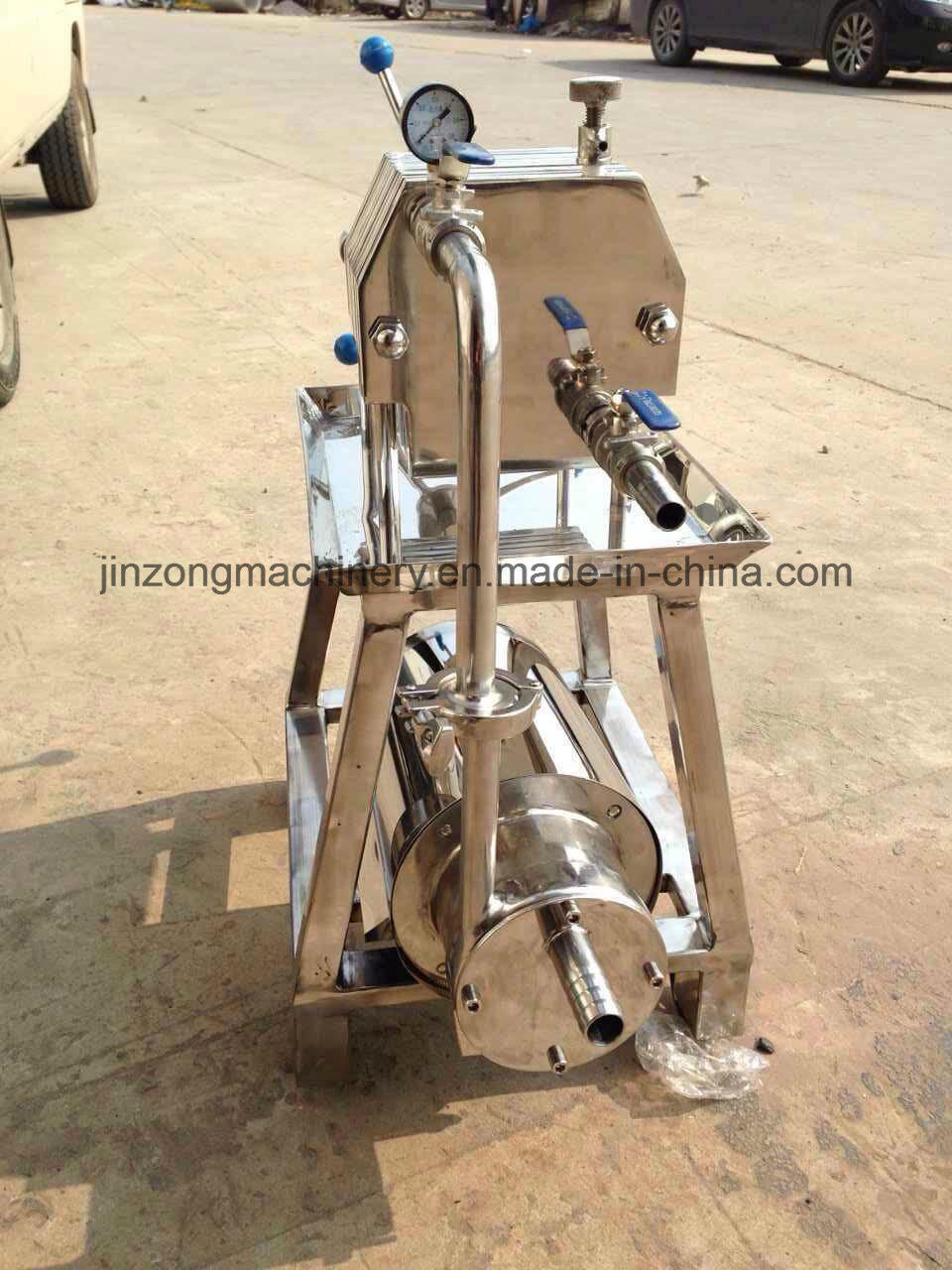 China Stainless Steel Plate Frame Filter