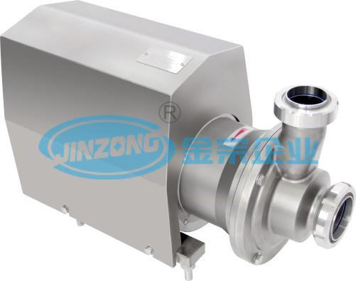CIP Hygienic Vacuum Pump Reverse Running Self-Priming Pump Price