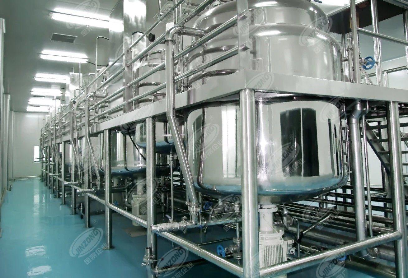 Yogurt Fermentation Tank Cosmetic Mixing Tank Stirring Tank Food Factory Mannufacturer Stainless Steel 500 Liter