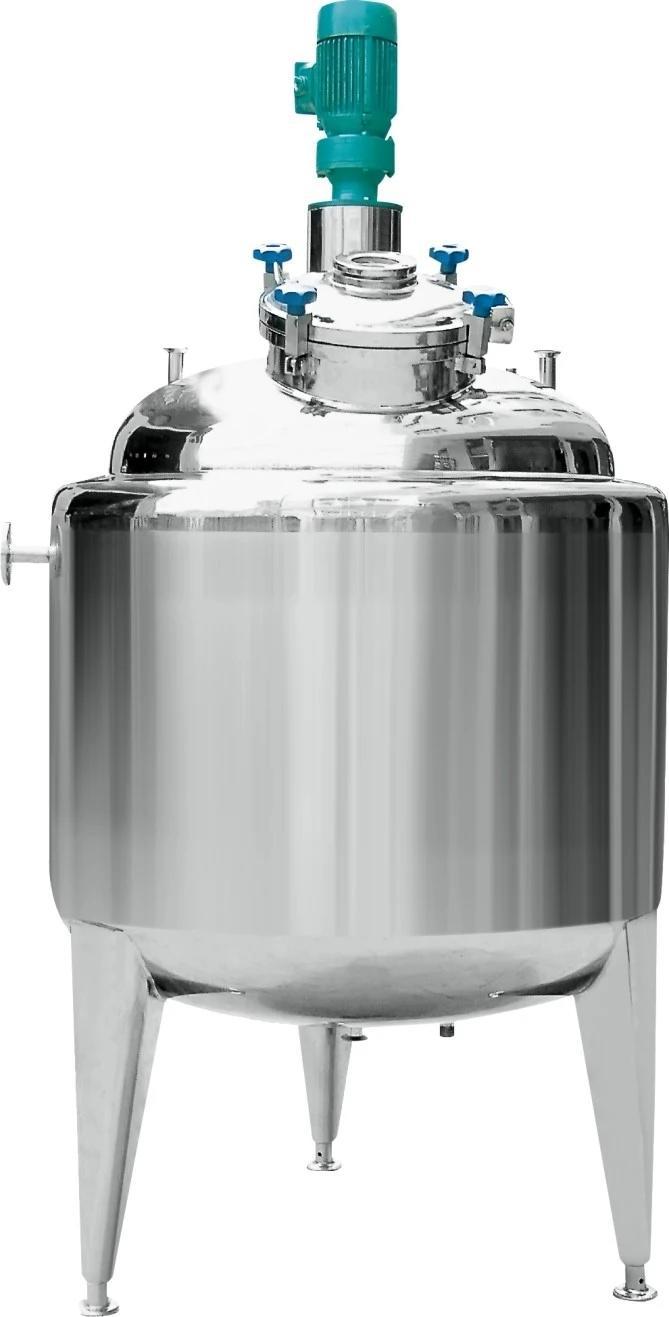 Food & Pharmaceutical Conical Bottom Sanitary Storage Tank