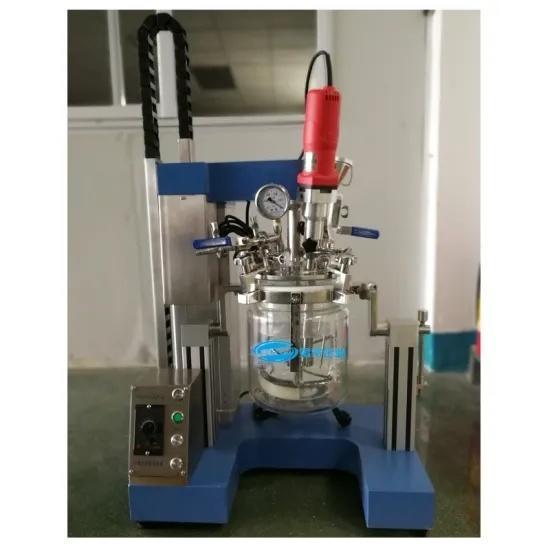 2L Glass Line Laboratory Vacuum Homogenizer Mixer Emulsifying Machine