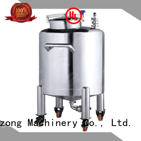 Jinzong Machinery mask stainless steel mixing tank factory for nanometer materials