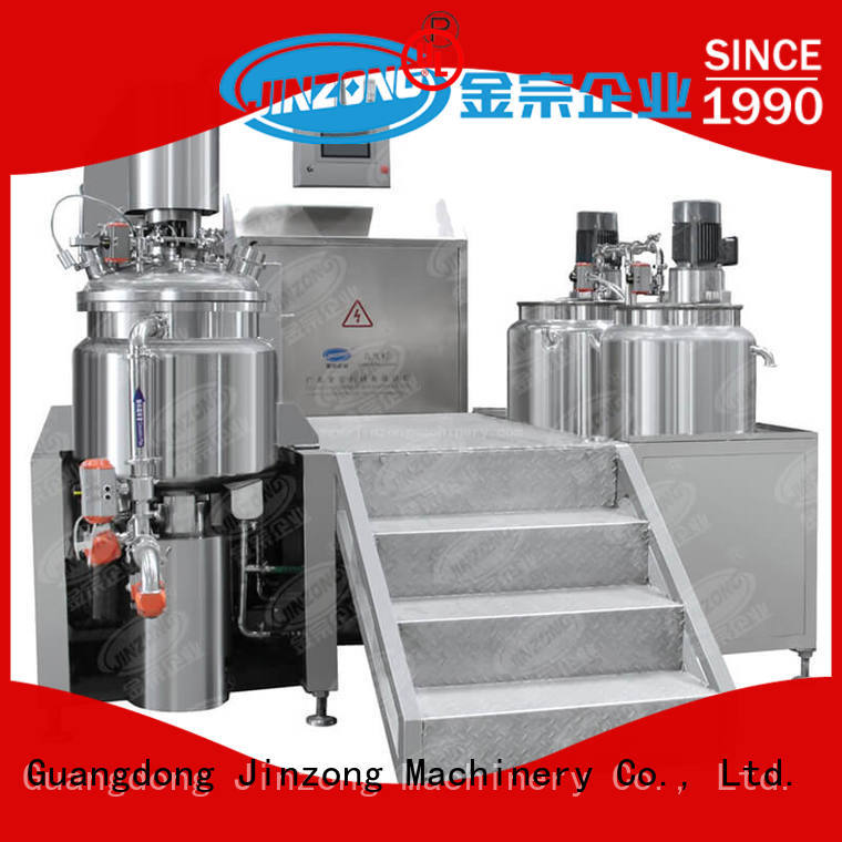 filling vacuum emulsifying mixer laboratory for paint and ink Jinzong Machinery