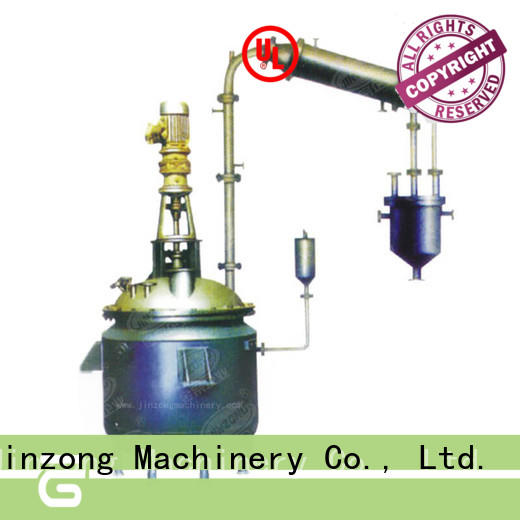 Jinzong Machinery professional pilot reactor on sale for reaction