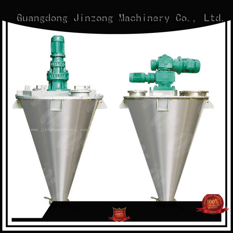 Jinzong Machinery realiable powder mixer on sale for workshop