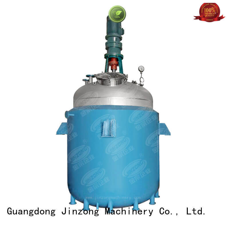 Jinzong Machinery professional pilot reactor Chinese for distillation