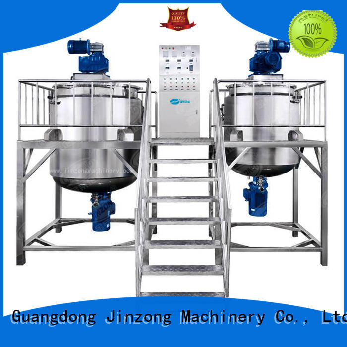 Jinzong Machinery practical Cosmetic cream homogenizer factory for paint and ink