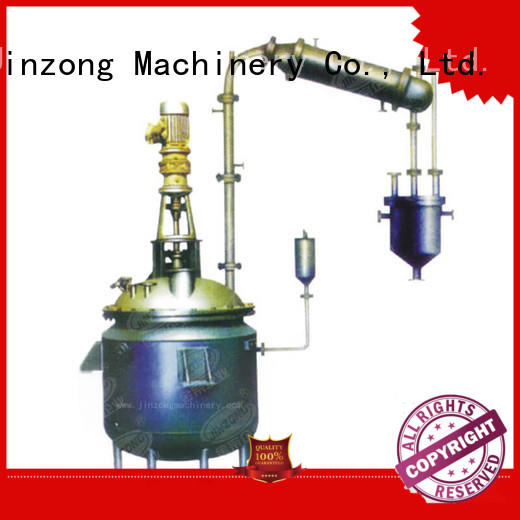 steel condenser Chinese for chemical industry Jinzong Machinery